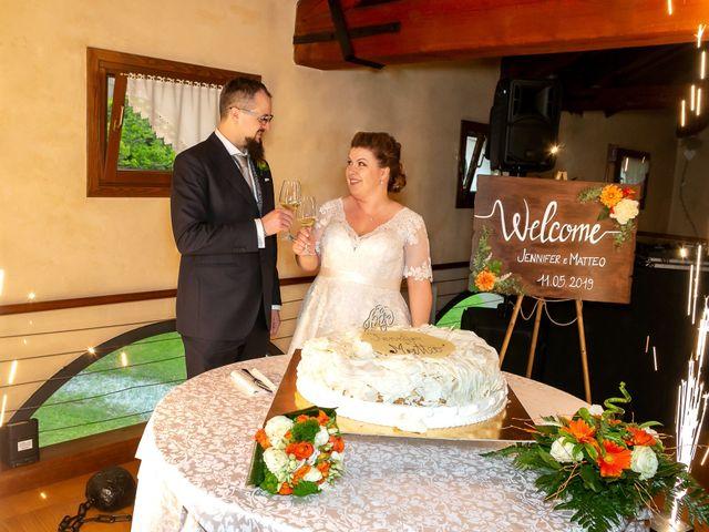 Il matrimonio di Matteo e Jennifer a Chiarano, Treviso 46