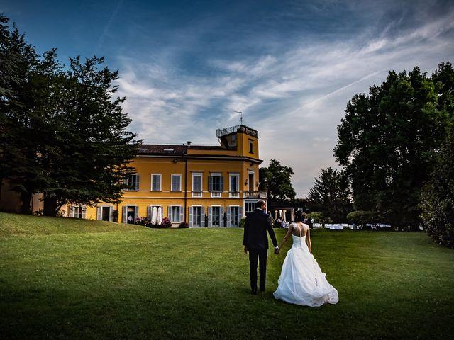 Il matrimonio di Simone e Laura a Inverigo, Como 1