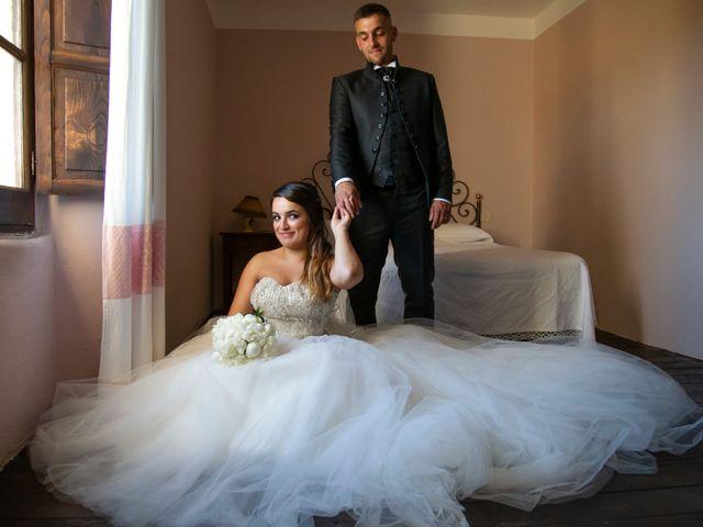 Il matrimonio di Roberto e Caterina a Oniferi, Nuoro 13