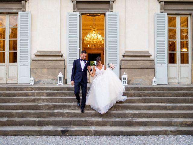 Il matrimonio di Fabio e Michela a Bergamo, Bergamo 68