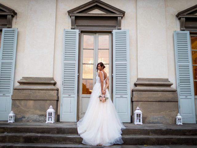 Il matrimonio di Fabio e Michela a Bergamo, Bergamo 73