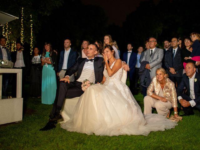 Il matrimonio di Fabio e Michela a Bergamo, Bergamo 107