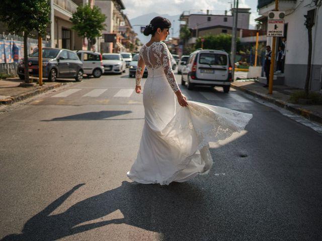 Il matrimonio di Giusy e Salvatore a Marigliano, Napoli 23