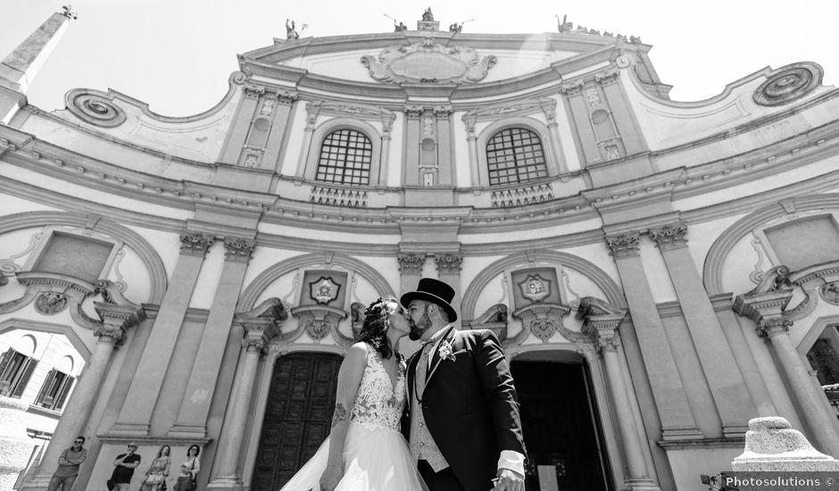 Il matrimonio di Sebastiano e Chiara a Cilavegna, Pavia