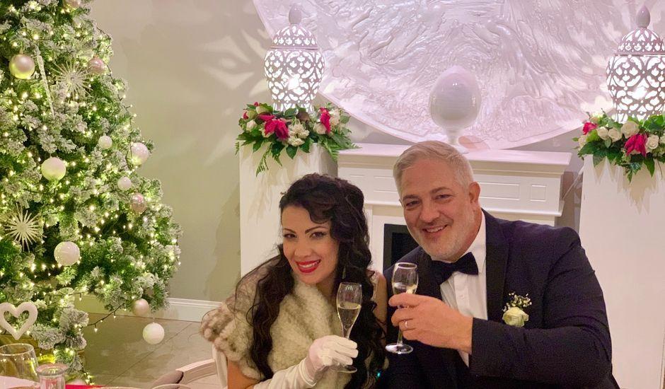 Il matrimonio di John David e Marta a Manfredonia, Foggia