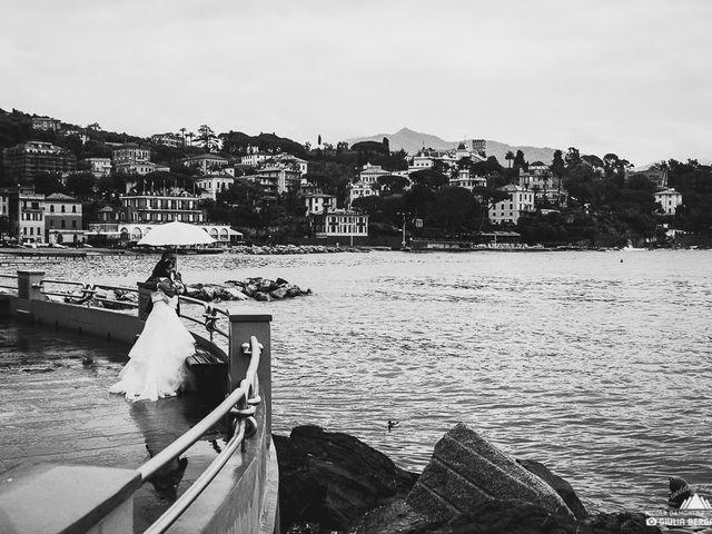 Il matrimonio di Tiziana e Leandro a Zoagli, Genova 3