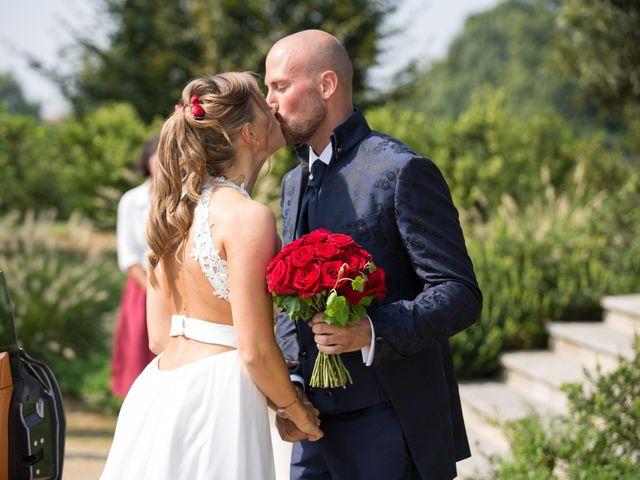 Il matrimonio di Riccardo e Evelin a Scanzorosciate, Bergamo 14
