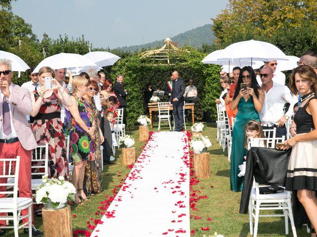 Il matrimonio di Riccardo e Evelin a Scanzorosciate, Bergamo 16