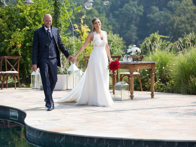 Il matrimonio di Riccardo e Evelin a Scanzorosciate, Bergamo 28