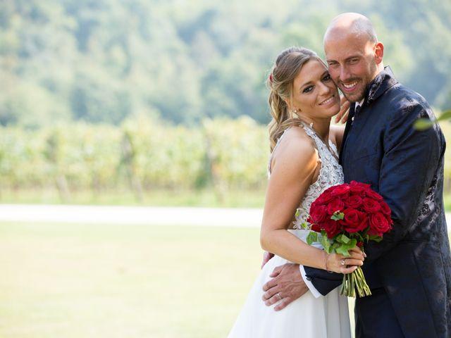 Il matrimonio di Riccardo e Evelin a Scanzorosciate, Bergamo 32