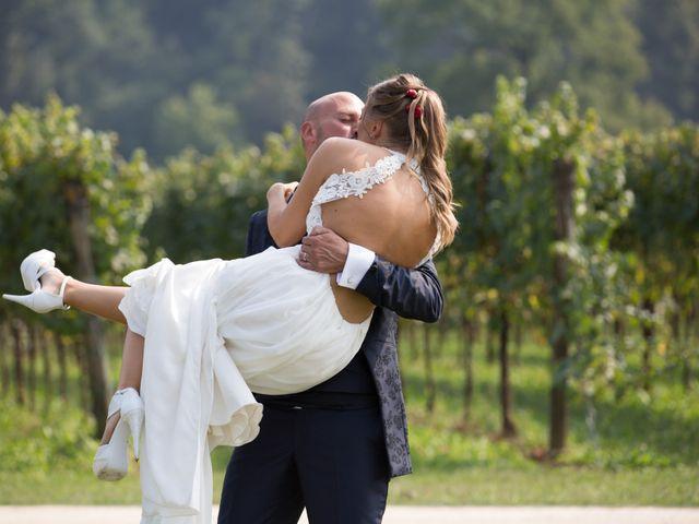 Il matrimonio di Riccardo e Evelin a Scanzorosciate, Bergamo 35