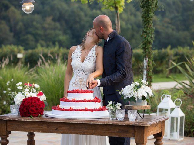 Il matrimonio di Riccardo e Evelin a Scanzorosciate, Bergamo 53