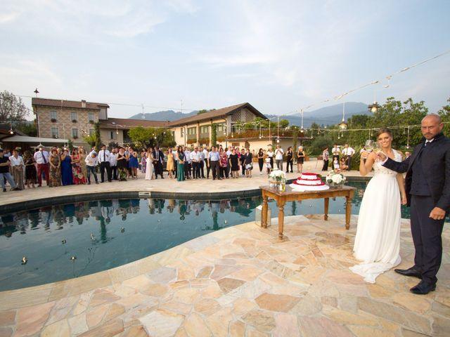 Il matrimonio di Riccardo e Evelin a Scanzorosciate, Bergamo 57