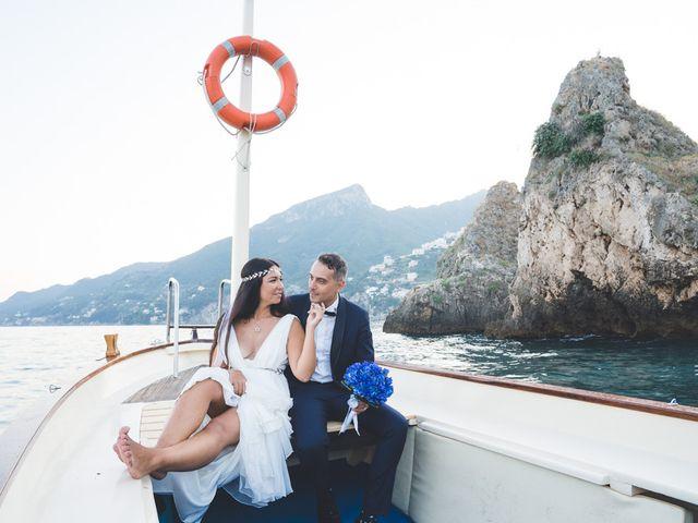Il matrimonio di Mariangela e Giuseppe a Vietri sul Mare, Salerno 14