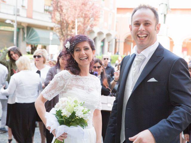 Il matrimonio di Matteo e Francesca a Budrio, Bologna 35