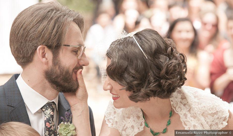 Il matrimonio di David e Sara a Uggiano la Chiesa, Lecce