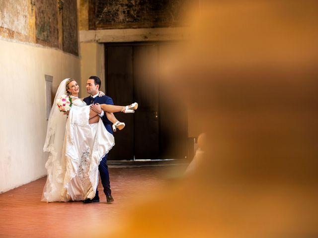 le nozze di Deborah e Alfredo