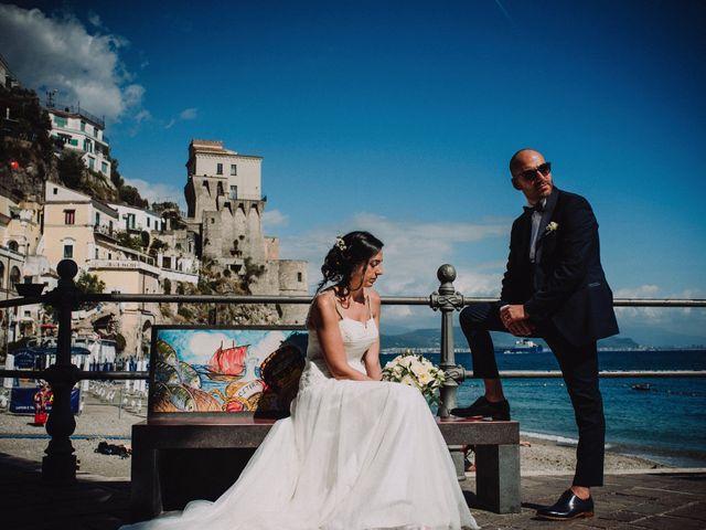 Il matrimonio di Marco e Nunzia a Vietri sul Mare, Salerno 27