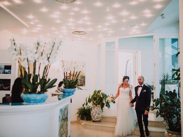 Il matrimonio di Marco e Nunzia a Vietri sul Mare, Salerno 28