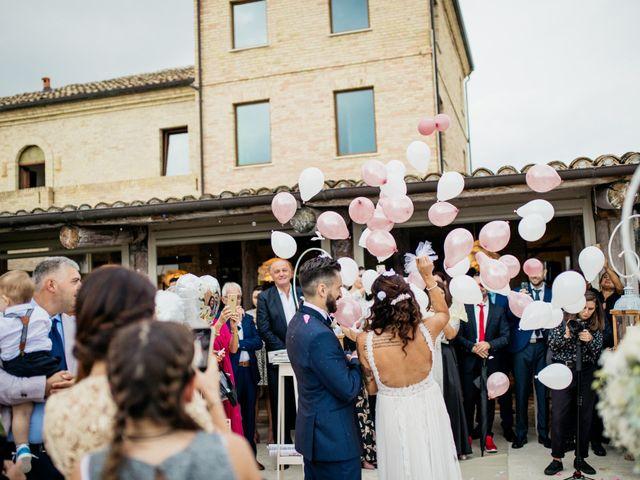 Il matrimonio di Raffaele e Celeste a Mosciano Sant'Angelo, Teramo 31
