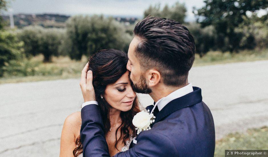 Il matrimonio di Raffaele e Celeste a Mosciano Sant'Angelo, Teramo