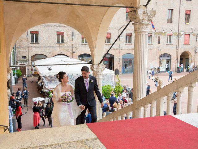 Il matrimonio di Mirko e Francesca a Ferrara, Ferrara 21