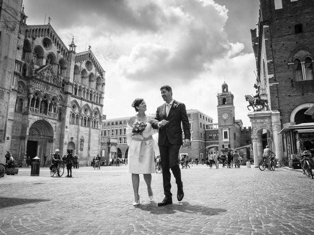Il matrimonio di Mirko e Francesca a Ferrara, Ferrara 1