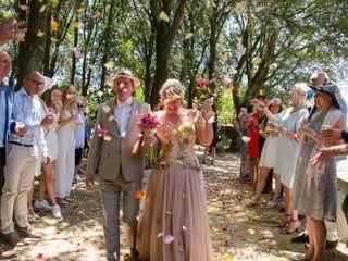 Le nozze di Brigitte e Bernard