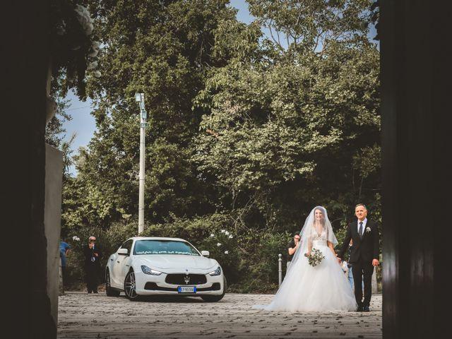 le nozze di Carla e Alessandro