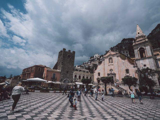 Il matrimonio di Joe e Vadicel a Taormina, Messina 7