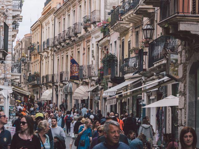 Il matrimonio di Joe e Vadicel a Taormina, Messina 8