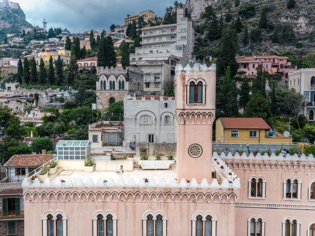 Il matrimonio di Joe e Vadicel a Taormina, Messina 36