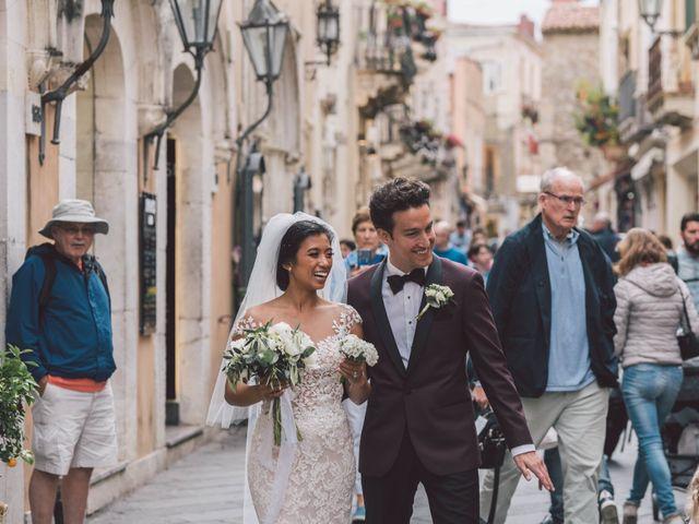 Il matrimonio di Joe e Vadicel a Taormina, Messina 38