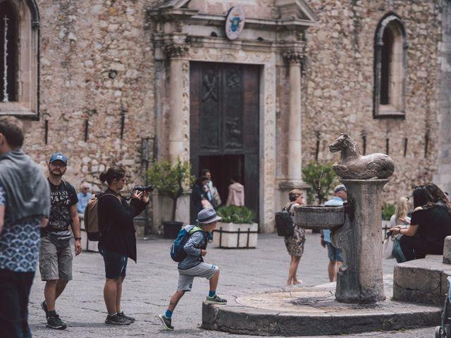 Il matrimonio di Joe e Vadicel a Taormina, Messina 39