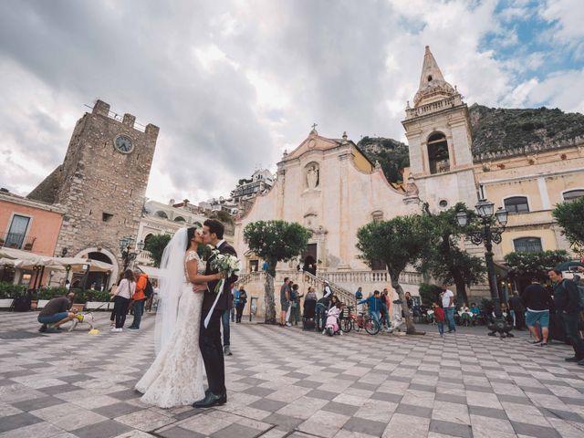 Il matrimonio di Joe e Vadicel a Taormina, Messina 41