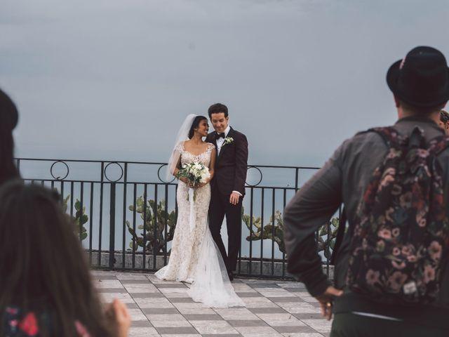 Il matrimonio di Joe e Vadicel a Taormina, Messina 43