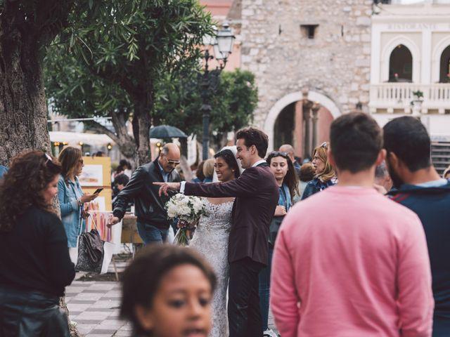 Il matrimonio di Joe e Vadicel a Taormina, Messina 45
