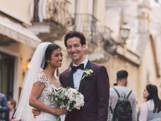 Il matrimonio di Joe e Vadicel a Taormina, Messina 46
