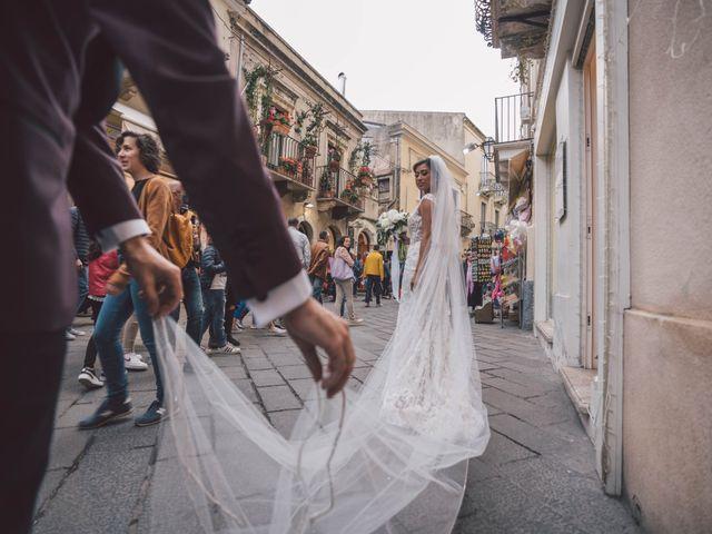 Il matrimonio di Joe e Vadicel a Taormina, Messina 54