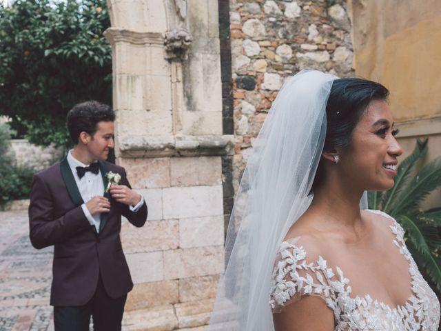 Il matrimonio di Joe e Vadicel a Taormina, Messina 56