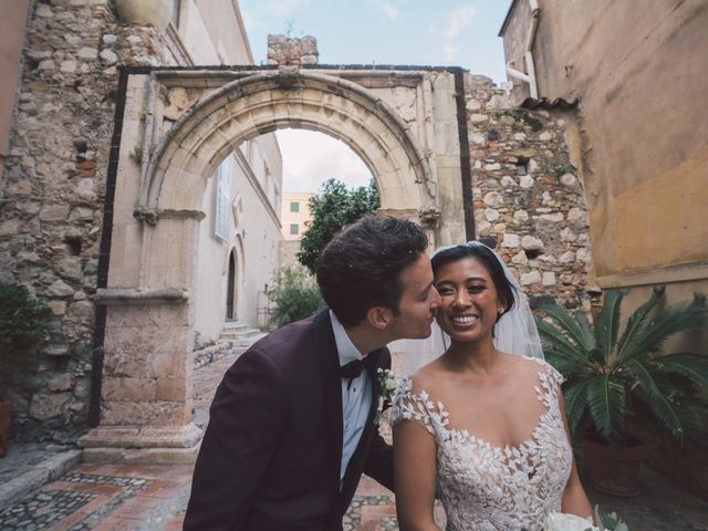 Il matrimonio di Joe e Vadicel a Taormina, Messina 57
