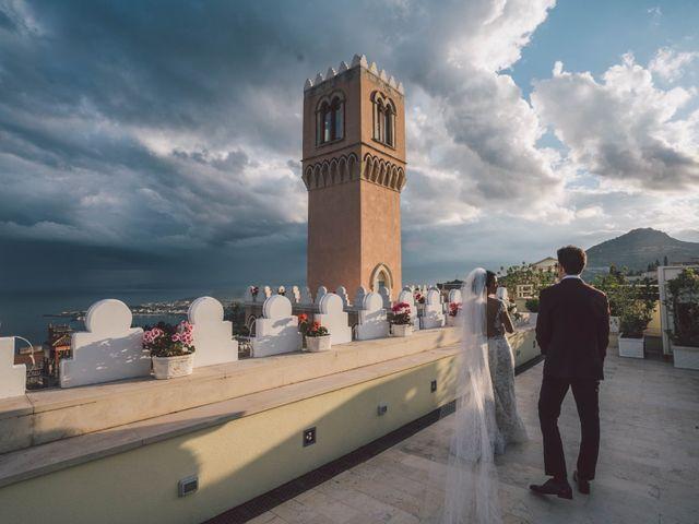 Il matrimonio di Joe e Vadicel a Taormina, Messina 58