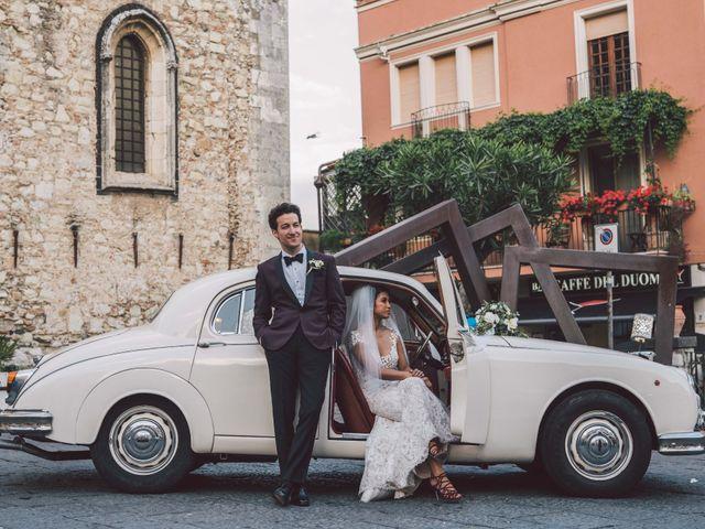 Il matrimonio di Joe e Vadicel a Taormina, Messina 61
