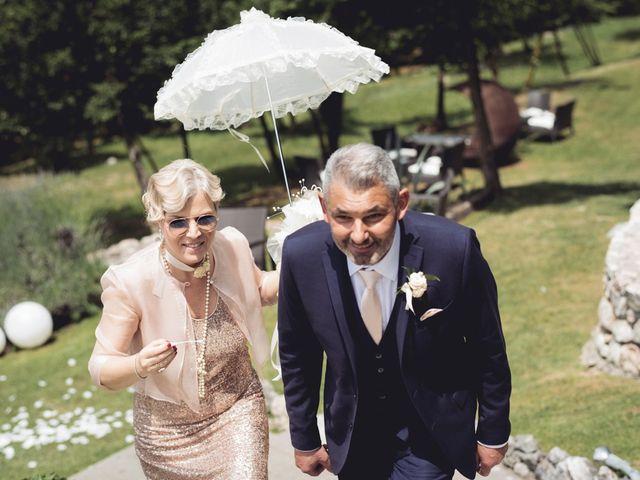 Il matrimonio di Roberto e Laura a Costermano, Verona 35