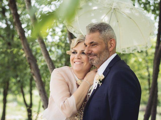Il matrimonio di Roberto e Laura a Costermano, Verona 45