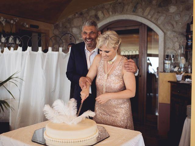 Il matrimonio di Roberto e Laura a Costermano, Verona 63