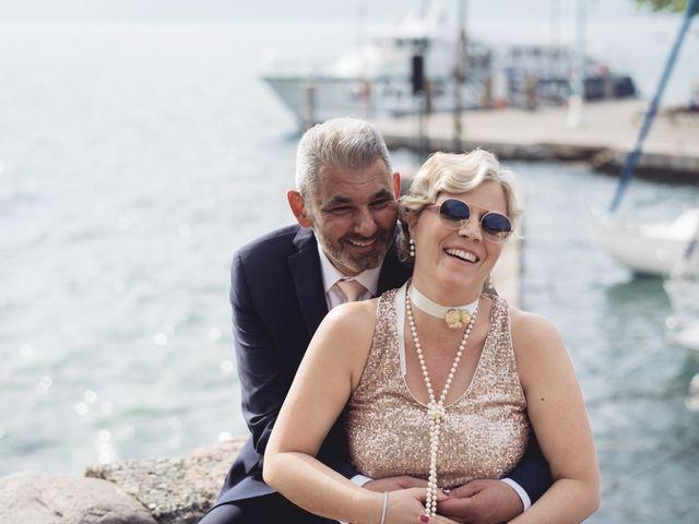 Il matrimonio di Roberto e Laura a Costermano, Verona 72
