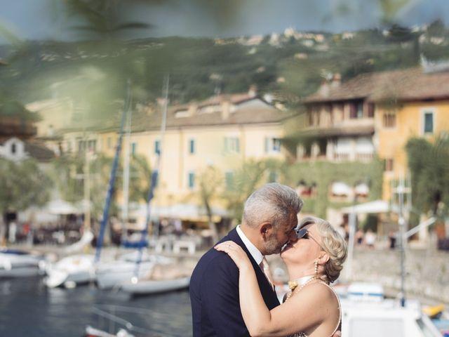 Il matrimonio di Roberto e Laura a Costermano, Verona 74