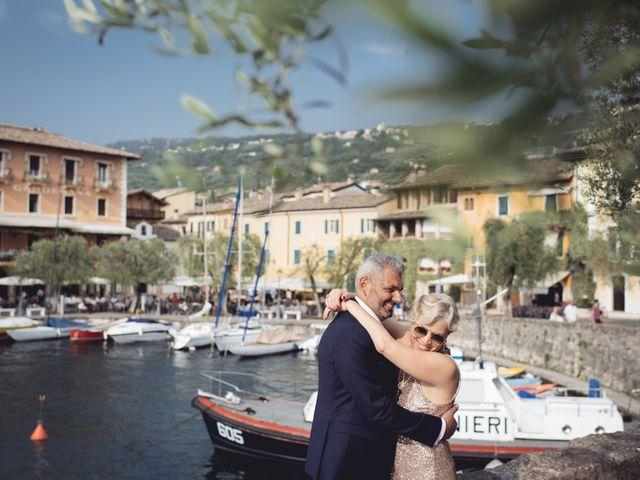 Il matrimonio di Roberto e Laura a Costermano, Verona 75