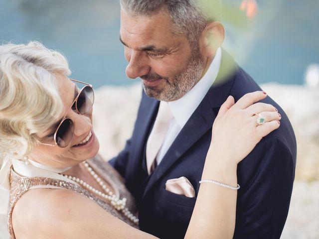 Il matrimonio di Roberto e Laura a Costermano, Verona 79